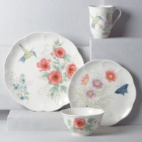 LENOX BUTTERFLY MDW 4PC SET HUMMINGBIRD