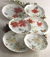 LENOX BUTTERFLY MEADOW 18PC HOLIDAY SET