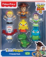 LITTLE PEOPLE TOY STORY 4 7 FRIENDS PACK