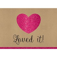 LOVED IT! 8CT THANK YOU CARDS