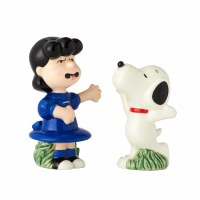 LUCY & SNOOPY SALT & PEPPER SET