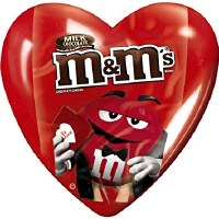M&M 'S VALENTINE HEART