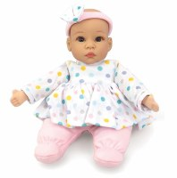 "MADAME ALEXANDER 12"" BABY DOT DRESS"