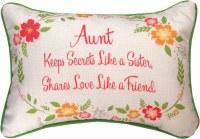MANUAL PILLOW AUNT KEEPS SECRETS