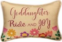 MANUAL PILLOW GODDAUGHTER PRIDE & JOY