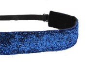 MAVI BANDZ HEADBAND BLUE SPARKLE