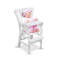 MELISSA & DOUG DOLL HIGH CHAIR 20""