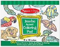 MELISSA & DOUG JUMBO COLORING PAD ANIMAL