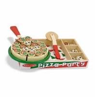 MELISSA & DOUG WOOD PIZZA PARTY VELCRO