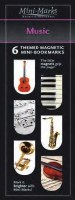 MINI MARKS BOOKMARK MUSIC