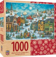 1000PC PUZZLE HARBOR SIDE CAROLERS