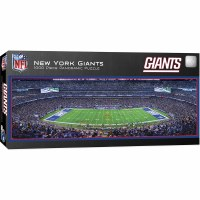 1000PC PANORAMIC PUZZLE NY GIANTS