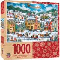 1000PC PUZZLE CHRISTMAS EVE FLY BY