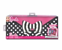 BARBIE BLACK BOW 2 DOLL CLUTCH & CLOSET