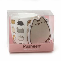 OUR NAME IS MUD PUSHEEN MUG W/COASTER