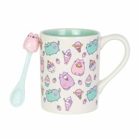 OUR NAME IS MUD PUSHEEN MUG W/SPOON