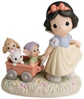 P/M SNOW WHITE WITH WAGON