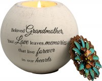 "PAVILION GRANDMOTHER 4"" TEALIGHT CANDLE"