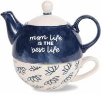 PAVILION TEAPOT & CUP SET MOM LIFE