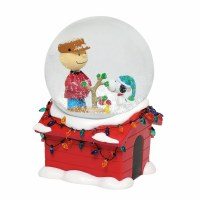 PEANUTS CHARLIE BROWN MUSICAL WATERGLOBE