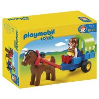 PLAYMOBIL 123 PONY  WAGON