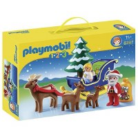 PLAYMOBIL 123       SANTA CLAUSE W/RNDR
