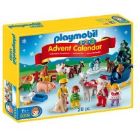 PLAYMOBIL ADVENT CALENDAR 123  XMAS FARM