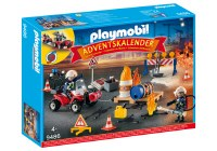 PLAYMOBIL ADVENT CALENDAR FIRE RESCUE