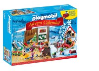 PLAYMOBIL ADVENT CALENDAR SANTA'S WORKSH