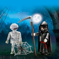 PLAYMOBIL DUO PACK MUMMY & GRIM REAPER