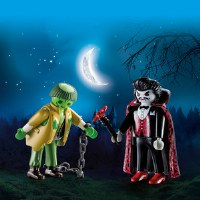 PLAYMOBIL DUO PACK VAMPIRE & MONSTER