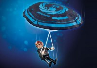 PLAYMOBIL THE MOVIE REX DASHER PARACHUTE
