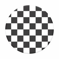 POP SOCKET TOP CHECKER BLACK