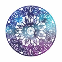 POP SOCKET TOP CORNFLOWER CHAKRA