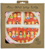 PRINCESS DIVIDED SUCTION PLATE