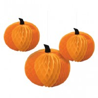 AMSCAN PUMPKIN HONEYCOMB CENTERPIECE