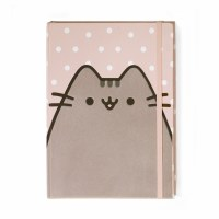 PUSHEEN JOURNAL POLKA DOT