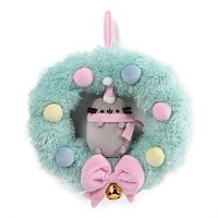 PUSHEEN WREATH ORNAMENT 4.5""