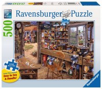 RAVENSBURGER 500pc PUZZLE DAD'S SHED