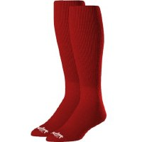 RAWLINGS 2PR BASEBALL SOCKS MED RED