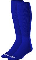 RAWLINGS 2PR BASEBALL SOCKS MED ROYAL