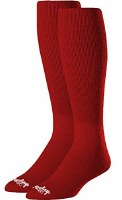 RAWLINGS 2PR BASEBALL SOCKS SMALL RED