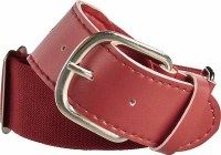 RAWLINGS BASEBALL BELT MAROON