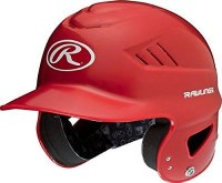 RAWLINGS COOLFLO BATTING HELMET SCARLET