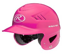 RAWLINGS COOLFLO T-BALL HELMET PINK