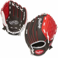 "RAWLINGS PLAYERS GLOVE 10"" RED/WHITE"