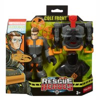 RESCUE HEROES COLE FRONT