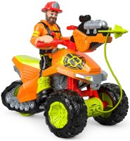 RESCUE HEROES FOREST FUEGO & FIRE TRACK