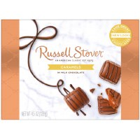 RUSSEL STOVER MINT CHOC CARAMELS 4.5oz