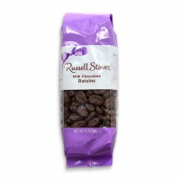 RUSSELL STOVER 10oz CHOCOLATE RAISINS